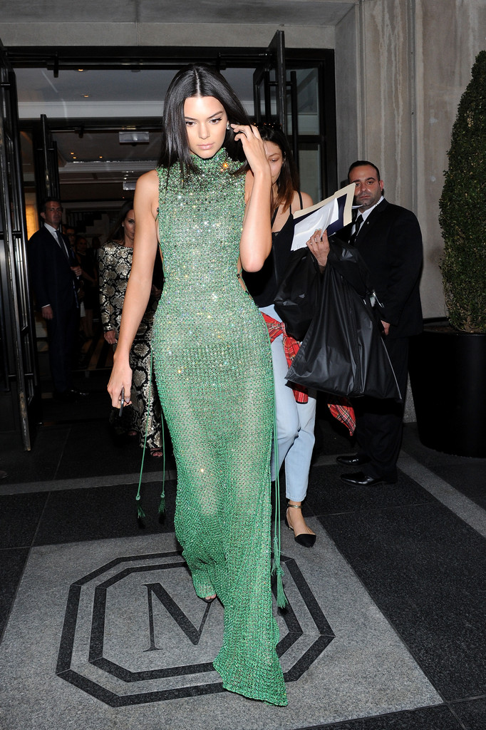 Kendall Jenner Photos Met Gala 2015 Departures From The