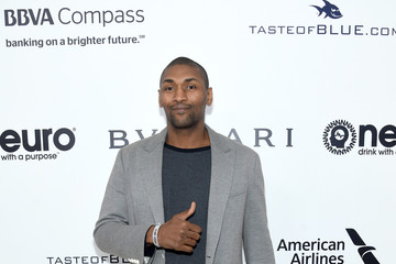 Metta World Peace 25th Annual Elton John AIDS Foundation's Oscar Viewing Party - Red Carpet
