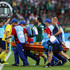 Sebastian Larsson Photos - Sebastian Larsson of Sweden is stretchered off injured during the 2018 FIFA World Cup Russia group F match between Mexico and Sweden at Ekaterinburg Arena on June 27, 2018 in Yekaterinburg, Russia. - Mexico Vs. Sweden: Group F - 2018 FIFA World Cup Russia