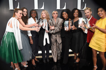 Mia Farrow ELLE's 25th Annual Women In Hollywood Celebration Presented By L'Oreal Paris, Hearts On Fire And CALVIN KLEIN - Inside