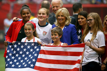 Mia Hamm USA v Japan: Final - FIFA Women's World Cup 2015