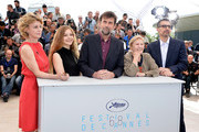 "(L-R) Actresses Margherita Buy, Beatrice Mancini, director Nanni Moretti, actress Giulia Lazzarini and actor John Turturro attend a photocall for ""Mia Madre"" (""My Mother"") during the 68th annual Cannes Film Festival on May 16, 2015 in Cannes, France."