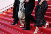 "(L-R) Actors John Turturro, Guilia Lazzarini, director Nanni Moretti and actress Margherita Buy attend the Premiere of ""Mia Madre"" (""My Mother"") during the 68th annual Cannes Film Festival on May 16, 2015 in Cannes, France."