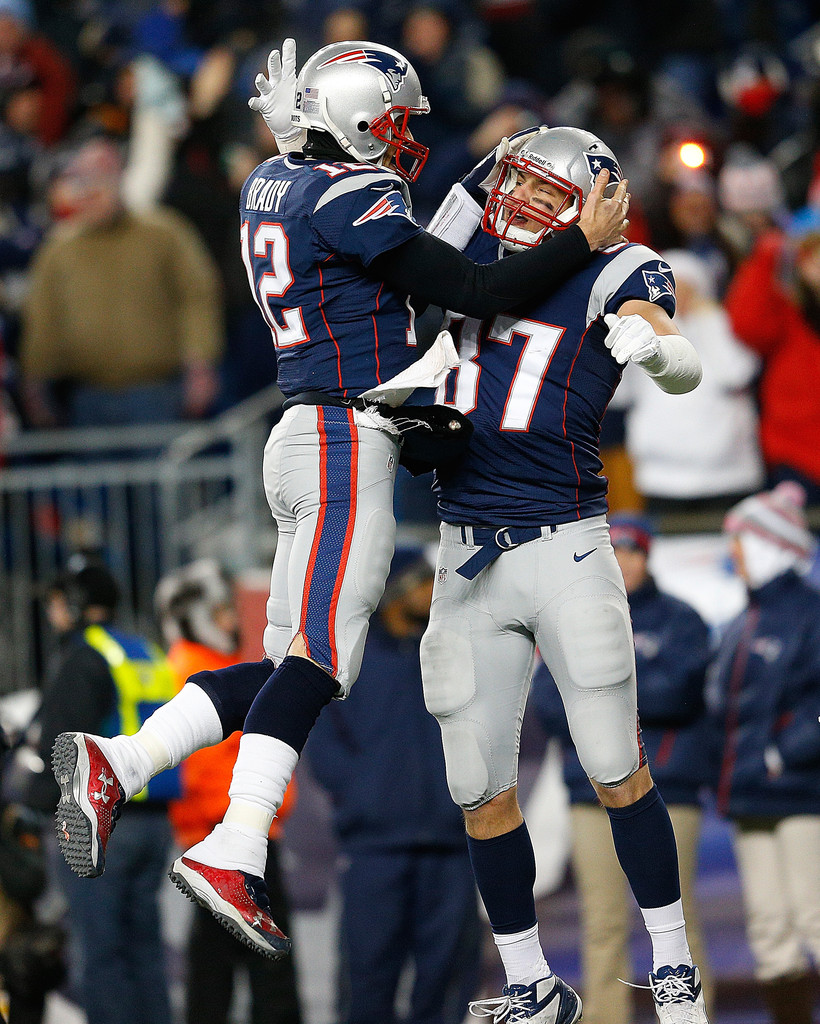 Tom Brady And Rob Gronkowski Photos