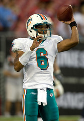 Pat White Miami Dolphins v Tampa Bay Buccaneers