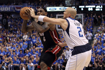 LeBron James Jason Kidd Miami Heat v Dallas Mavericks - NBA Finals Game Five