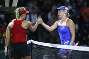 Angelique Kerber Anastasia Pavlyuchenkova Photos Photo