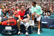 during day fourteen of the Miami Open tennis on March 31, 2019 in Miami Gardens, Florida.