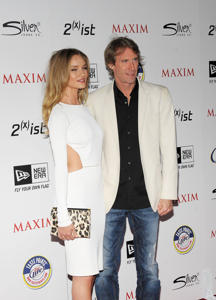Michael Bay and Rosie Huntington-Whiteley Photos Photos - 2011 ...