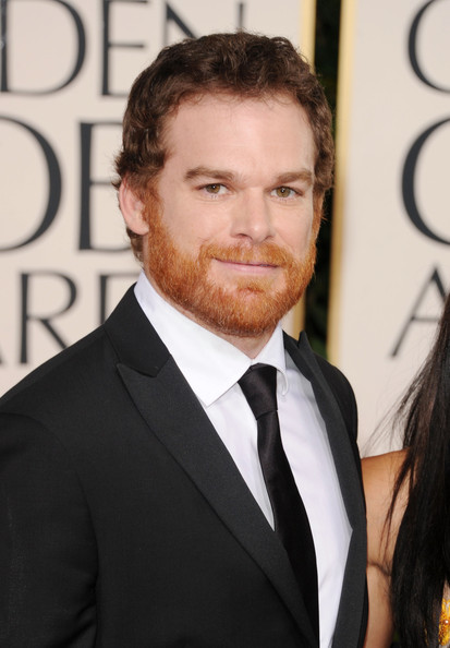 Actor Michael C. Hall arrives at the 68th Annual Golden Globe Awards held at