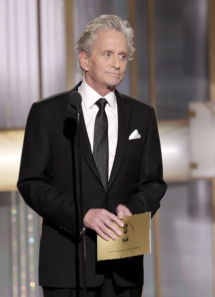 68th Annual Golden Globe Awards - Show. In This Photo: Michael Douglas