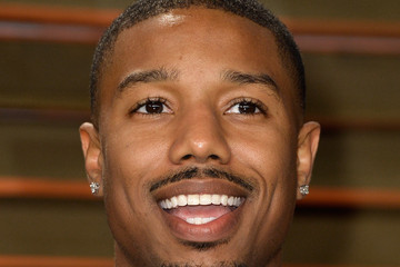 Michael B. Jordan Stars at the Vanity Fair Oscar Party