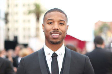 Michael B. Jordan Arrivals at the 86th Annual Academy Awards — Part 4