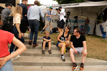 Michael Bennett Presidential Candidates Descend Upon The Iowa State Fair