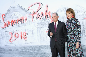 Michael Bloomberg Diana Taylor Serpentine Summer Party 2018 - Arrivals