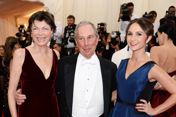 Michael Bloomberg Diana Taylor Red Carpet Arrivals at the Met Gala — Part 3