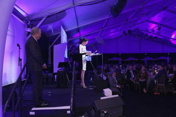 Michael Bloomberg Diana Taylor Inside the Friends of Hudson River Park Sweet 16 Gala