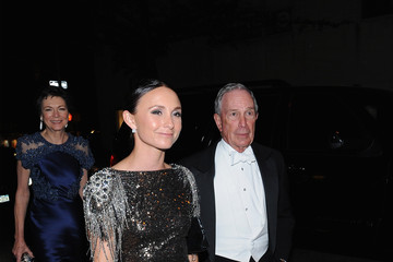 Michael Bloomberg Georgina Bloomberg Michael Kors and iTunes After Party at the Mark Hotel