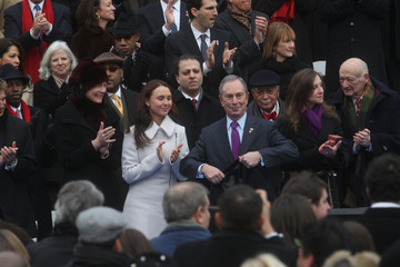 Emma Bloomberg Michael Bloomberg Is Sworn In For Third Term As New York City Mayor