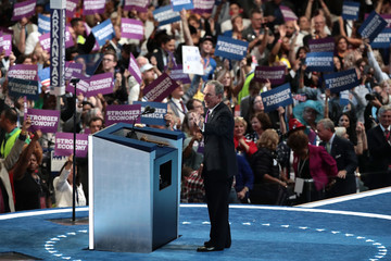 Michael Bloomberg Democratic National Convention: Day Three