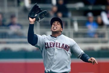 Michael Brantley Cleveland Indians v Minnesota Twins