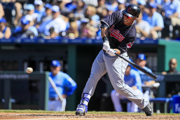 Michael Brantley Cleveland Indians v Kansas City Royals