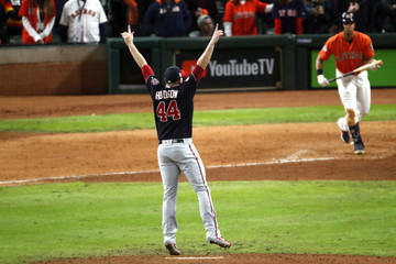 Michael Brantley World Series - Washington Nationals vs Houston Astros - Game Seven