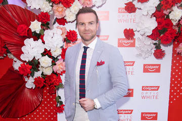 Michael Brown Celebrities Attend Colgate Optic White Stakes Day