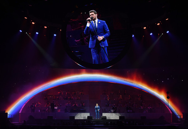 Michael Buble In Concert - Las Vegas, NV