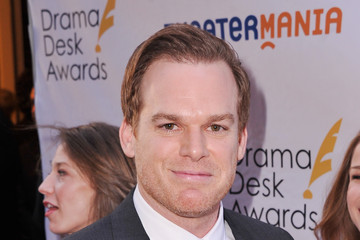 Michael C. Hall Arrivals at the Drama Desk Awards