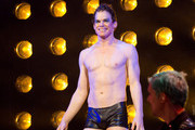 Michael C. Hall Performs at Belasco Theatre