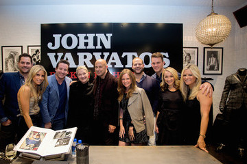 Michael Carroll John Varvatos Book Signing at John Varvatos Houston
