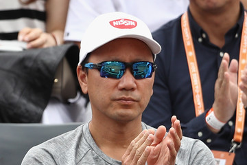 Michael Chang 2017 French Open - Day Three