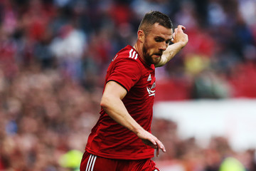 Michael Devlin Aberdeen vs. Burnley - UEFA Europa League Second Qualifying Round: 1st Leg