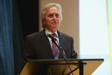Michael Douglas 'Action for Disarmament' Book Launch