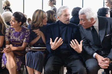 Michael Douglas Front Row at the Michael Kors Show