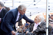 Kirk Douglas and Michael Douglas Photos Photo