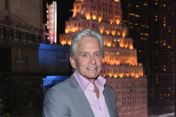 Michael Douglas The Cinema Society And Audi Host A Acreening of Marvel's 'Ant-Man' - After Party