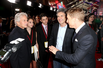 Michael Douglas The World Premiere of 'Rogue One: A Star Wars Story'