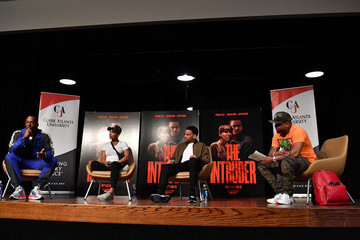 Michael Ealy Deon Taylor The Intruder Invades Clark Atlanta University's Spring Fest 2019 With Michael Ealy, Meagan Good, And Deon Taylor