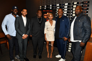 Michael Ealy Deon Taylor The Intruder Atlanta Mixer With Michael Ealy, Meagan Good, And Deon Taylor
