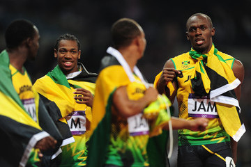 Michael Frater Olympics Day 15 - Athletics
