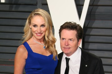 Michael J. Fox 2017 Vanity Fair Oscar Party Hosted By Graydon Carter - Arrivals