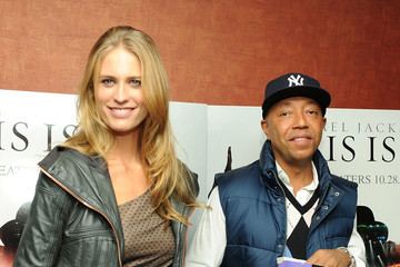 """Russell Simmons Julie Henderson """"Michael Jackson's This Is It"""" New York Premiere"""