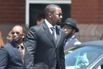Michael Jai White The Bobbi Kristina Brown Funeral