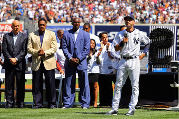 Michael Jordan Kansas City Royals v New York Yankees