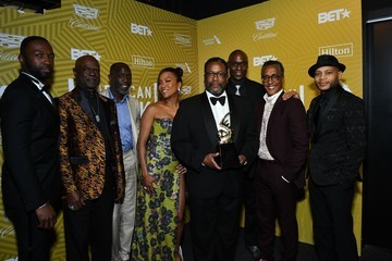 Michael K Williams Andre Royo American Black Film Festival Honors Awards Ceremony - Backstage