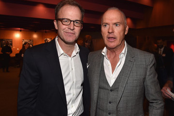 Michael Keaton Tom McCarthy Special Screening of Open Road Films' 'Spotlight' - After Party