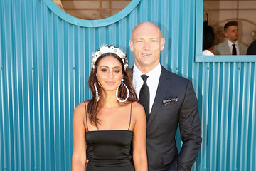 Michael Klim Celebrities Attend Derby Day