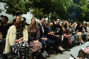 A view of the front row at the Michael Kors Collection Spring 2020 Runway Show on September 11, 2019 in Brooklyn City.